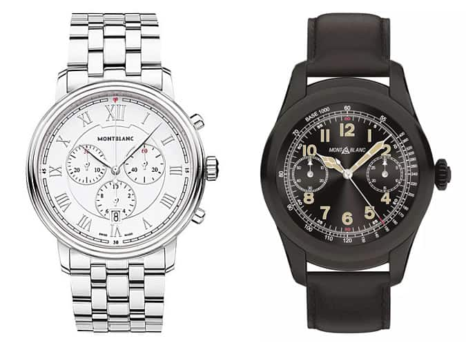 the best Montblanc watches for men