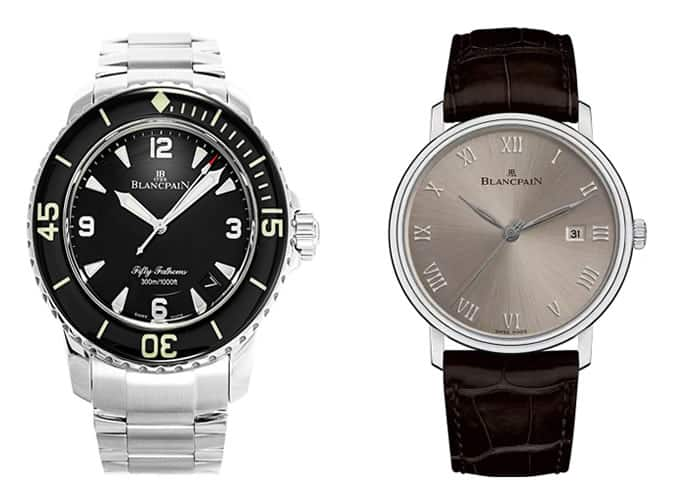 the best Blancpain watches for men