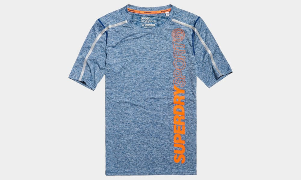 SUPERDRY SPORT CHEZ JD SPORTS ATHLETIC CORE TEE