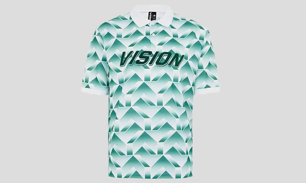 Haut de football vert VISION STREET WEAR