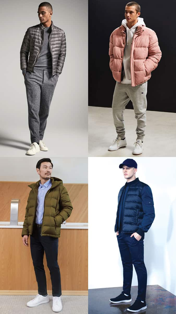 Comment porter des vestes et des manteaux matelassés