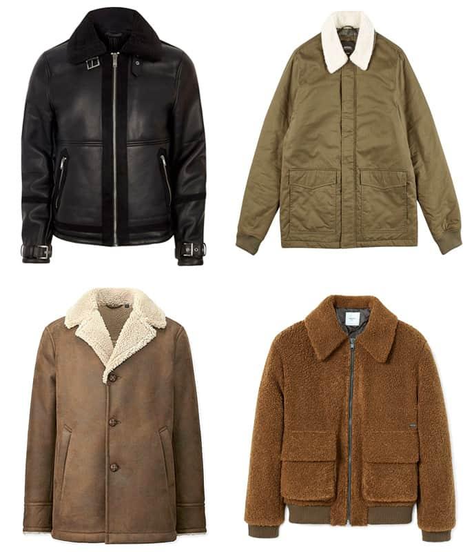 Les meilleures vestes et manteaux en peau de mouton synthétique pour hommes