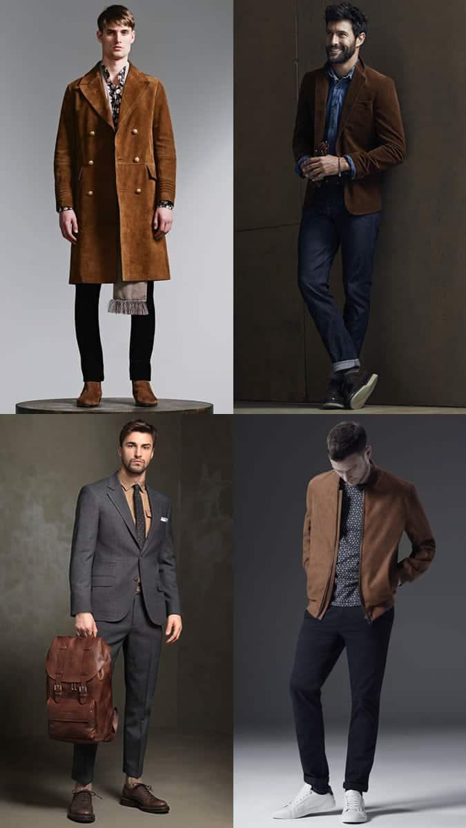 how to wear brown menswear
