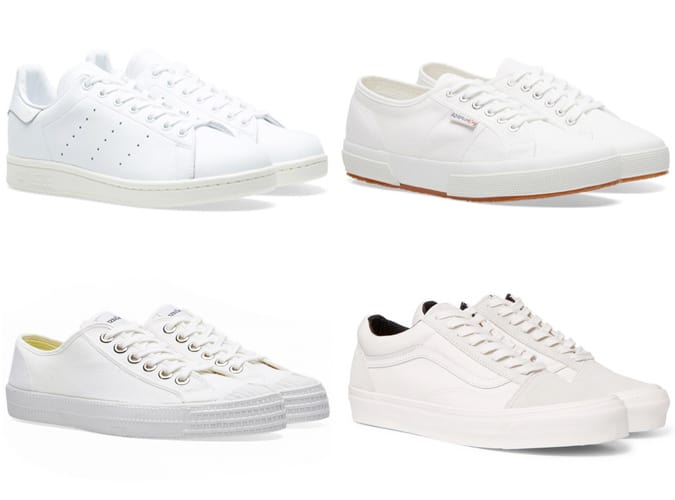 les meilleures baskets blanches abordables