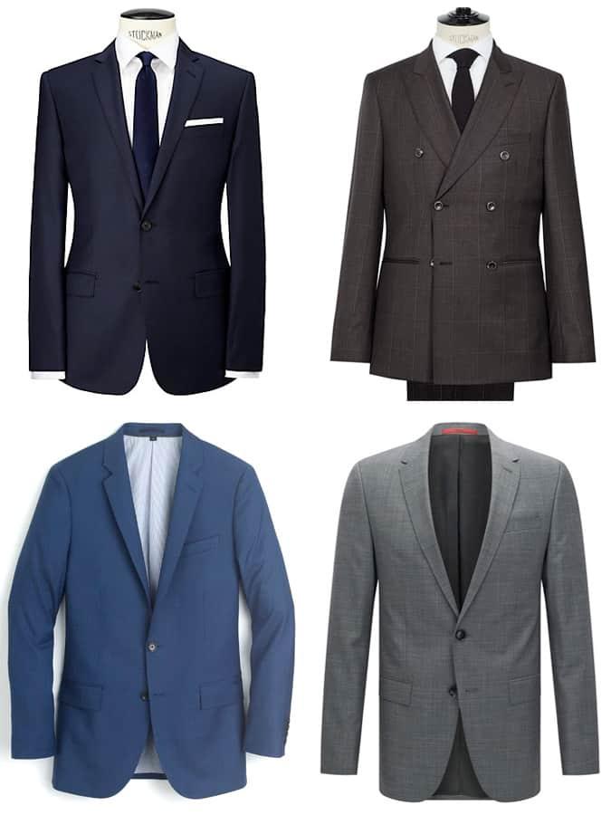 les meilleurs costumes pour hommes à 500 £