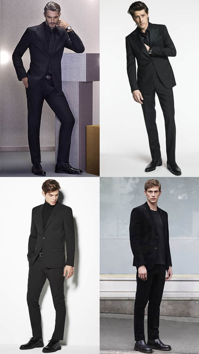 How To Wear All-Black Tailoring