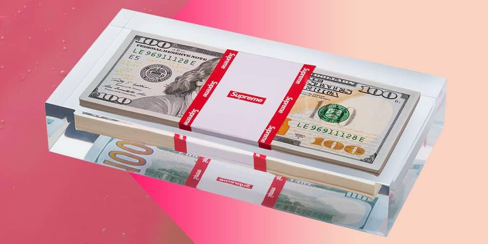 Poids suprême du papier d'argent