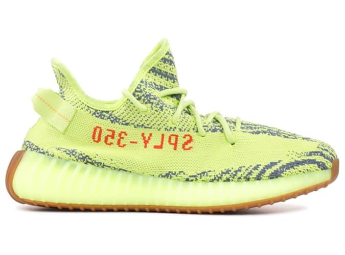 Adidas Yeezy Boost V2 Frozen Jaune