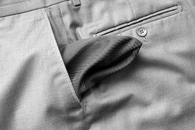 Videz vos poches avant de mettre des vêtements dans la machine à laver