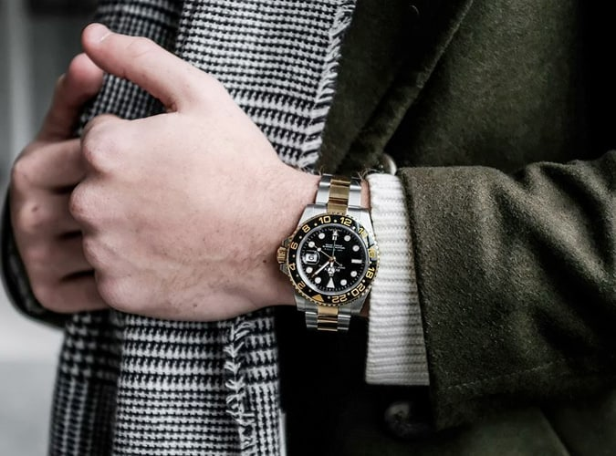Eleven James Rolex