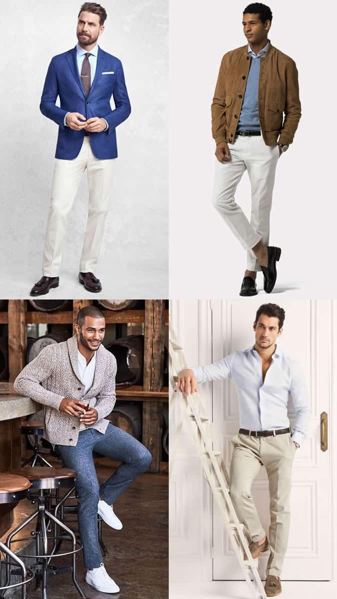 Tenues et style preppy classiques pour hommes