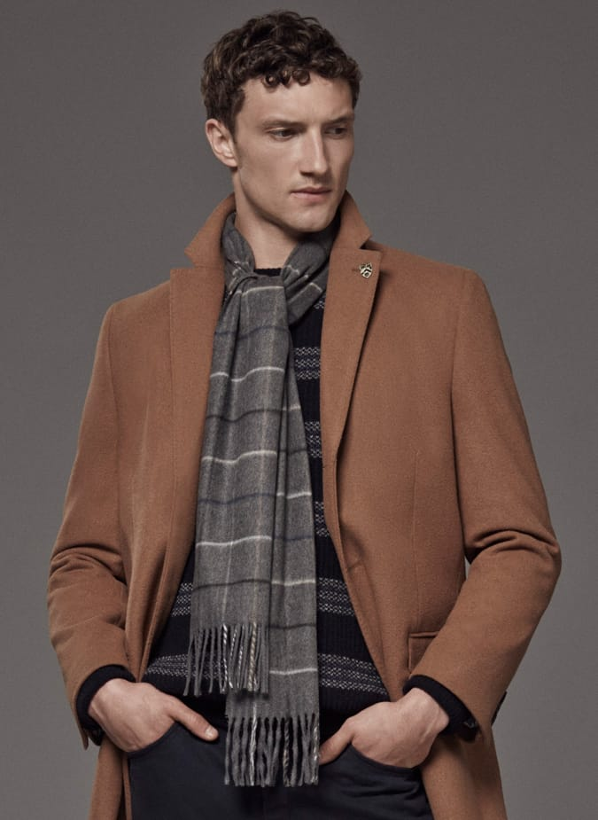 How To Wear A Scarf For Men - The Over Hand Tie