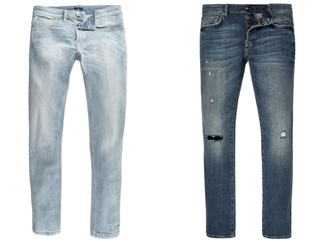 Jean skinny River Island pour homme