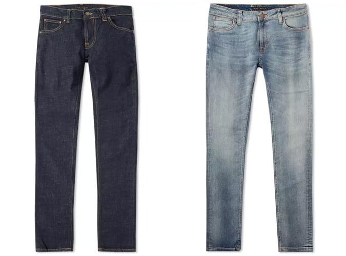 Nudie Jeans skinny fit denim pour homme