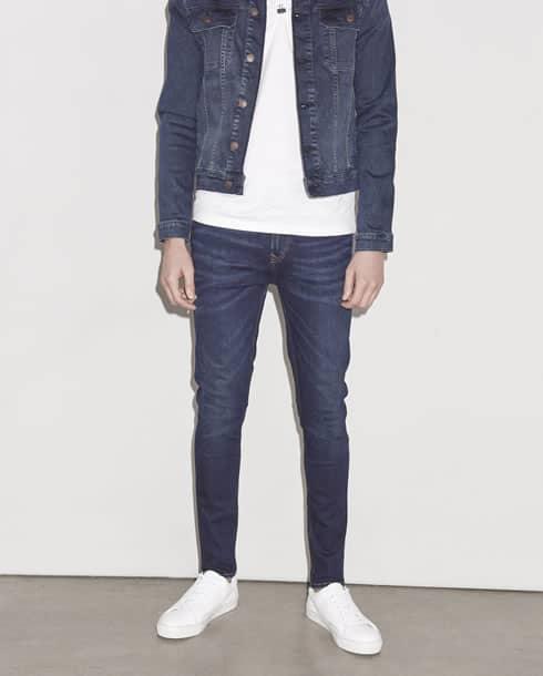 Topman Denim Jeans For Men: la coupe vaporisée