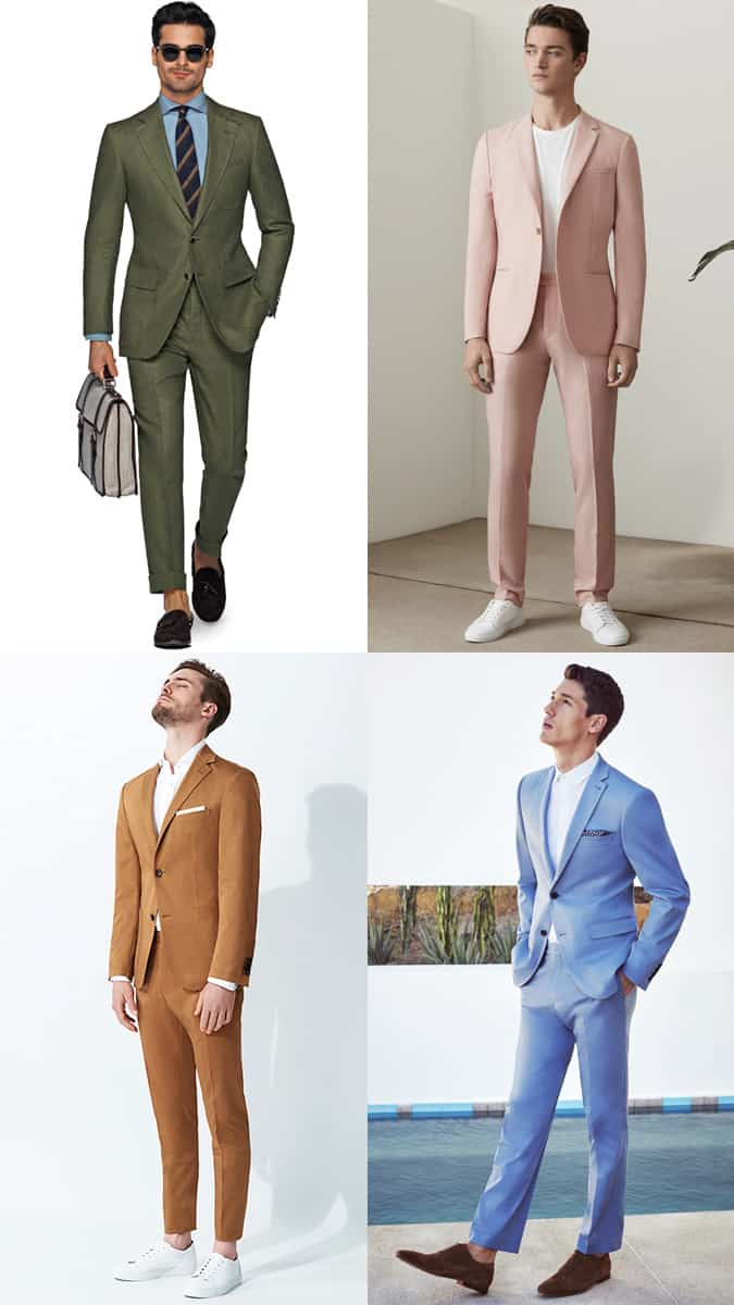 How To Wear Coloured Tailoring