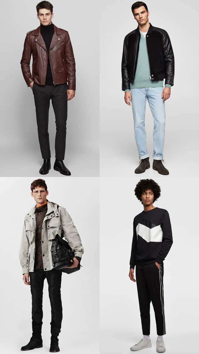 Façons élégantes de porter du cuir pour hommes