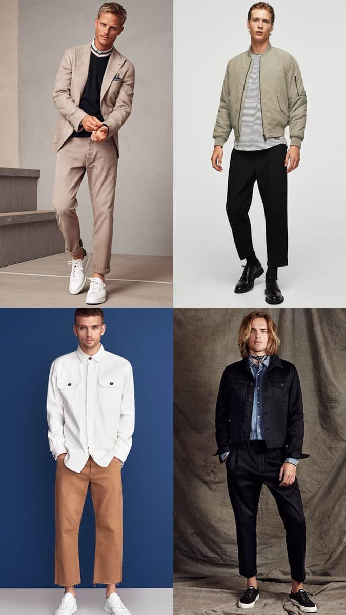 Pantalon coupe ample pour homme