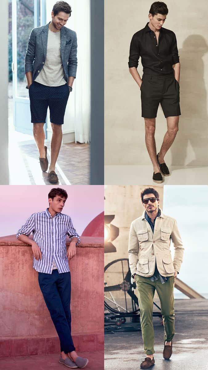 Espadrilles et chaussures de conduite élégantes pour hommes