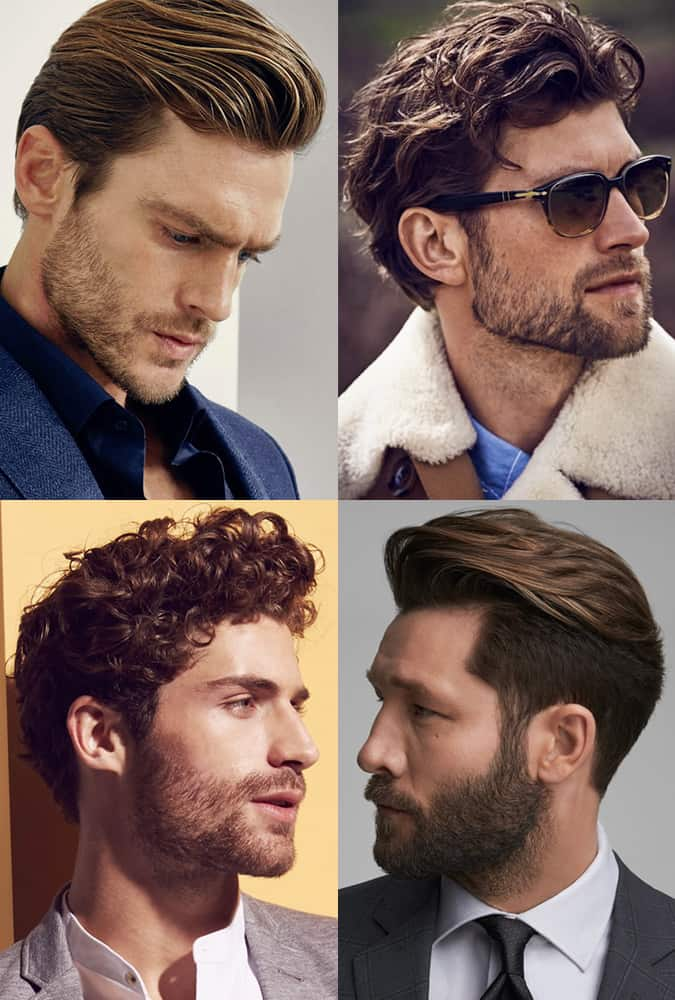 Barbes bien entretenues
