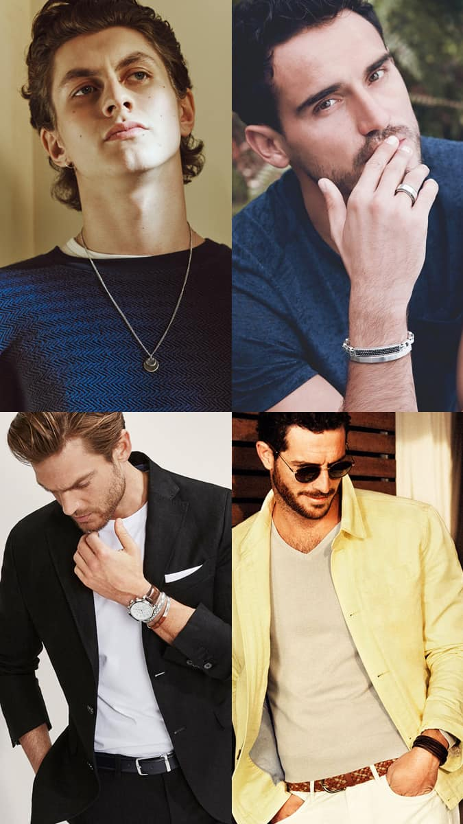 Bijoux élégants pour hommes