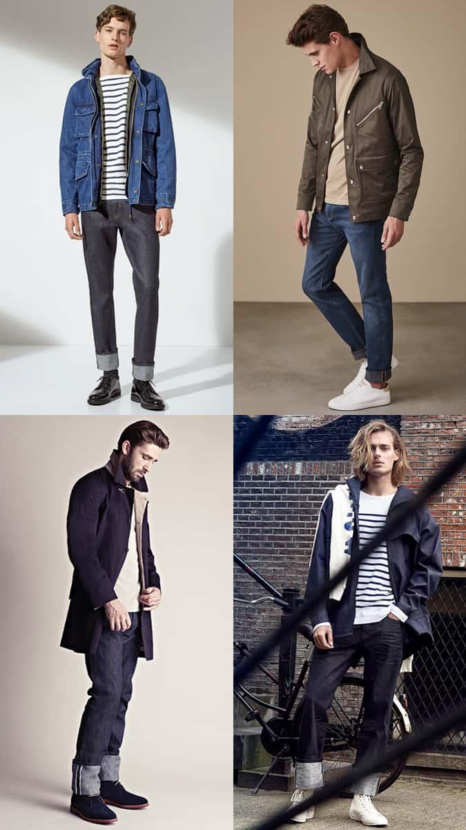 Comment porter un jean retroussé