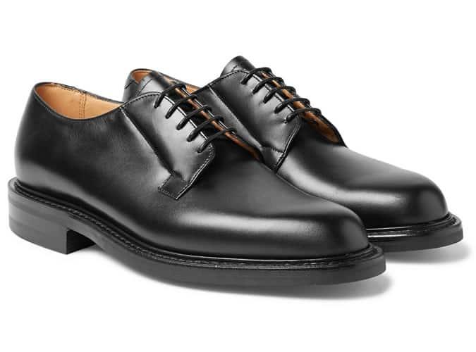 Chaussures derby classiques en cuir pour homme