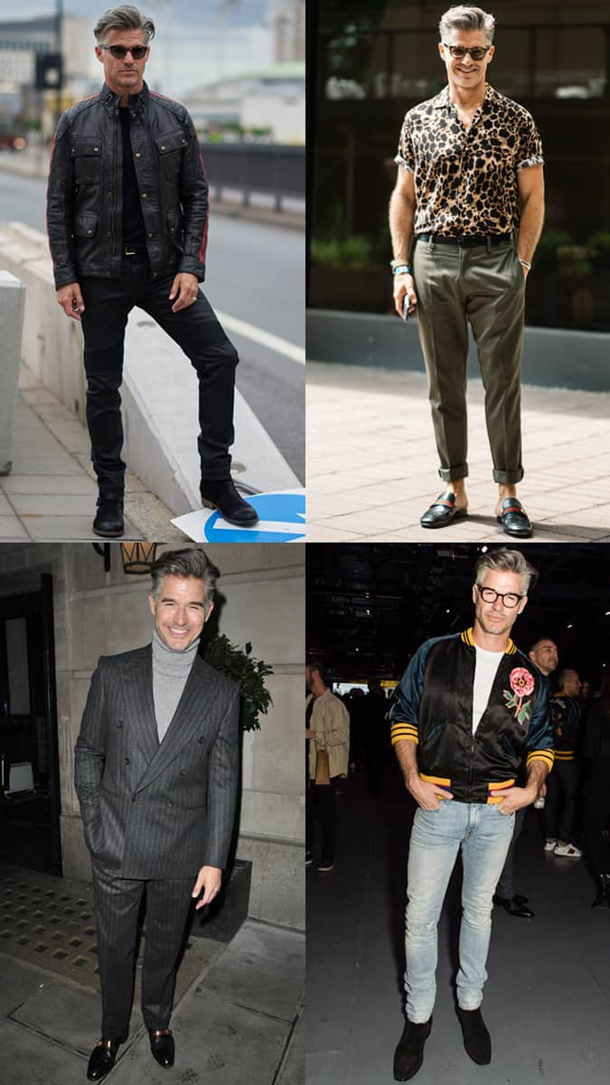 Eric Rutherford Street Style