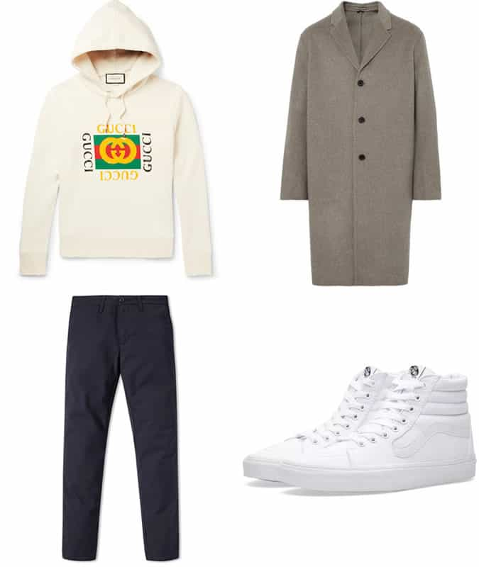 How to wear statement and logo streetwear in a grown up way