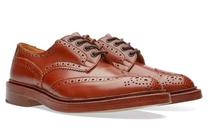 Chaussures brogues de Tricker