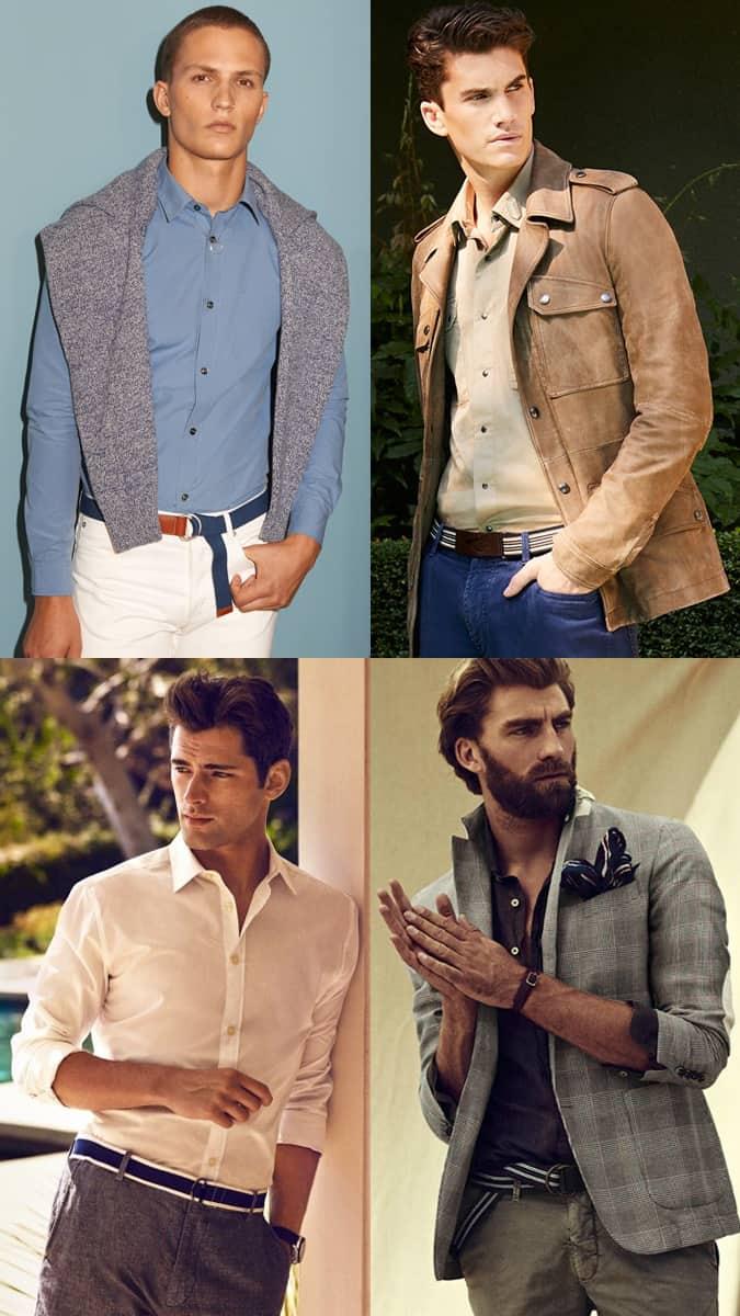 Comment porter une ceinture en tissu
