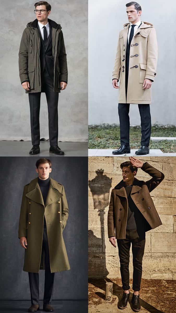 How To Wear Military-Style Coats