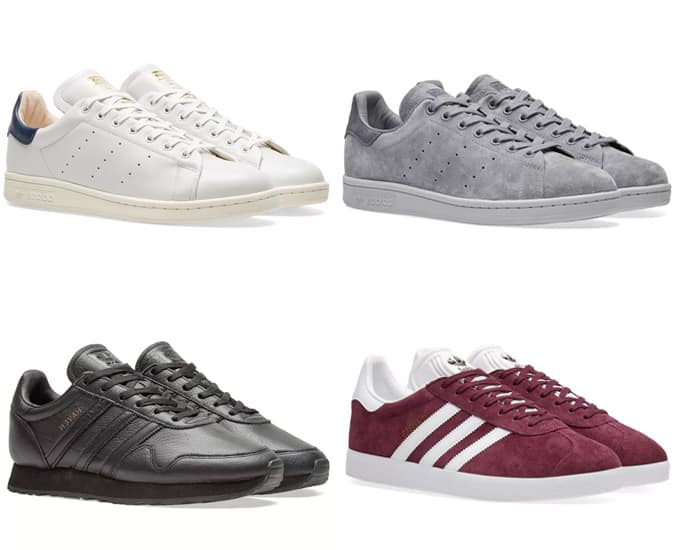 Les meilleurs baskets Adidas minimalistes