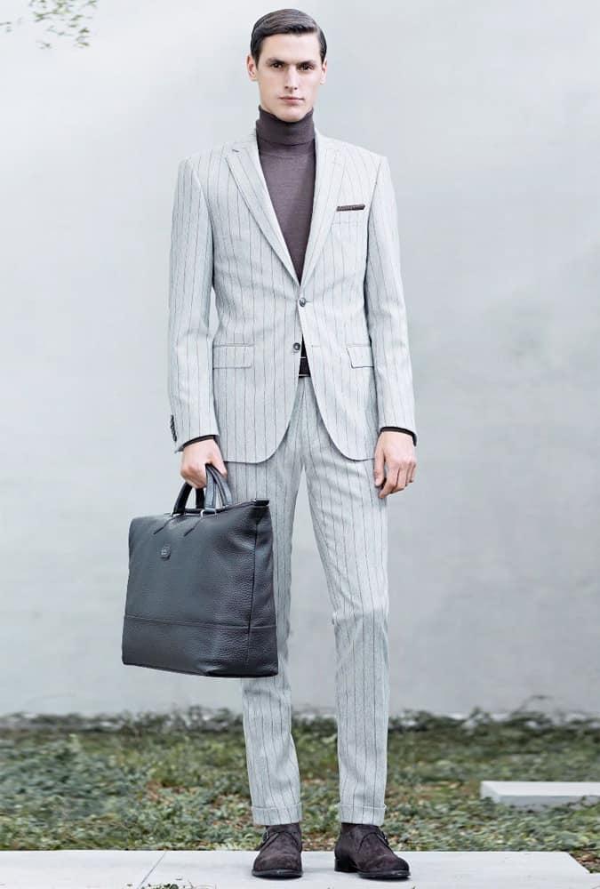 Hugo Boss Pinstripe Suit