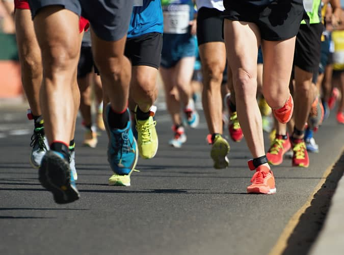 It's important to pick the right running shoes for your body size and shape