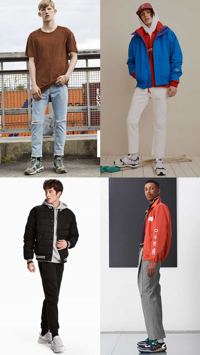 How To Wear Chunky Statement Trainers For Men
