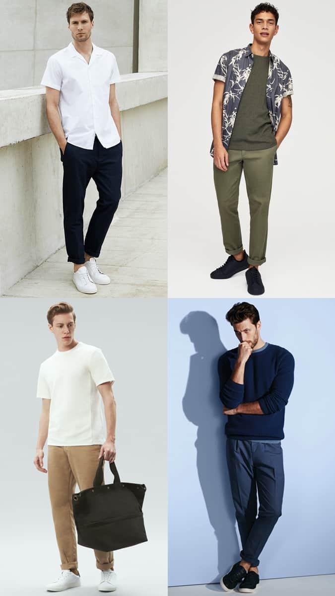 Comment porter un pantalon droit