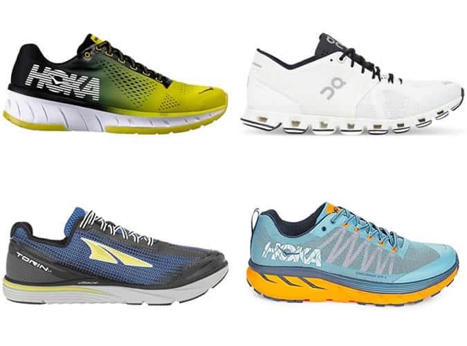 Best running trainers - Niche brands