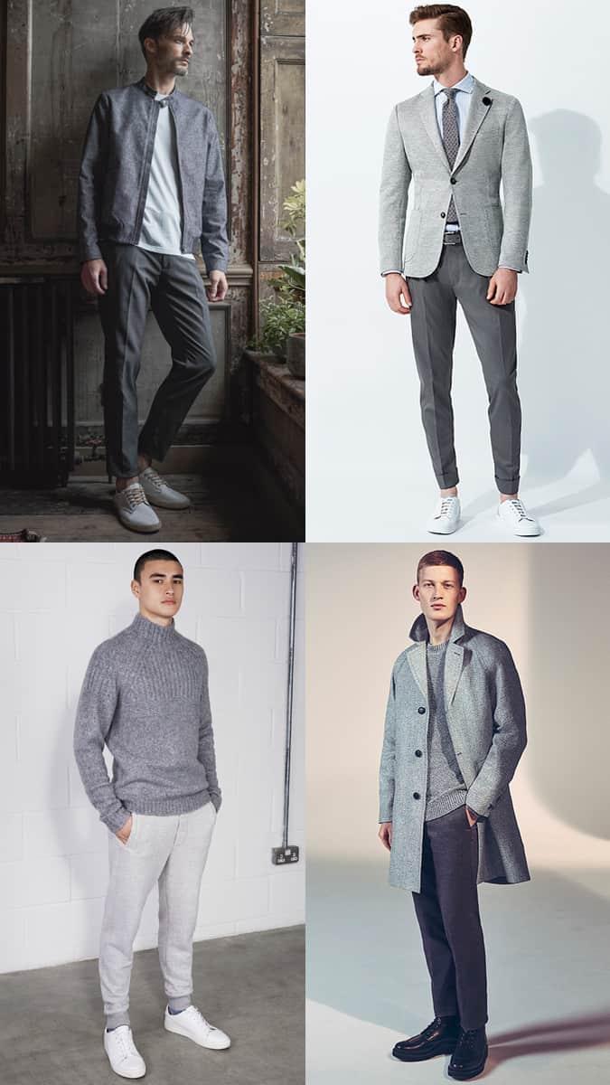Comment porter des tenues entièrement grises