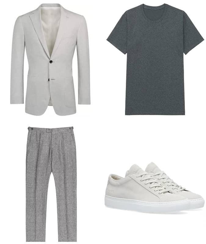 Comment porter une tenue chic et décontractée neutre