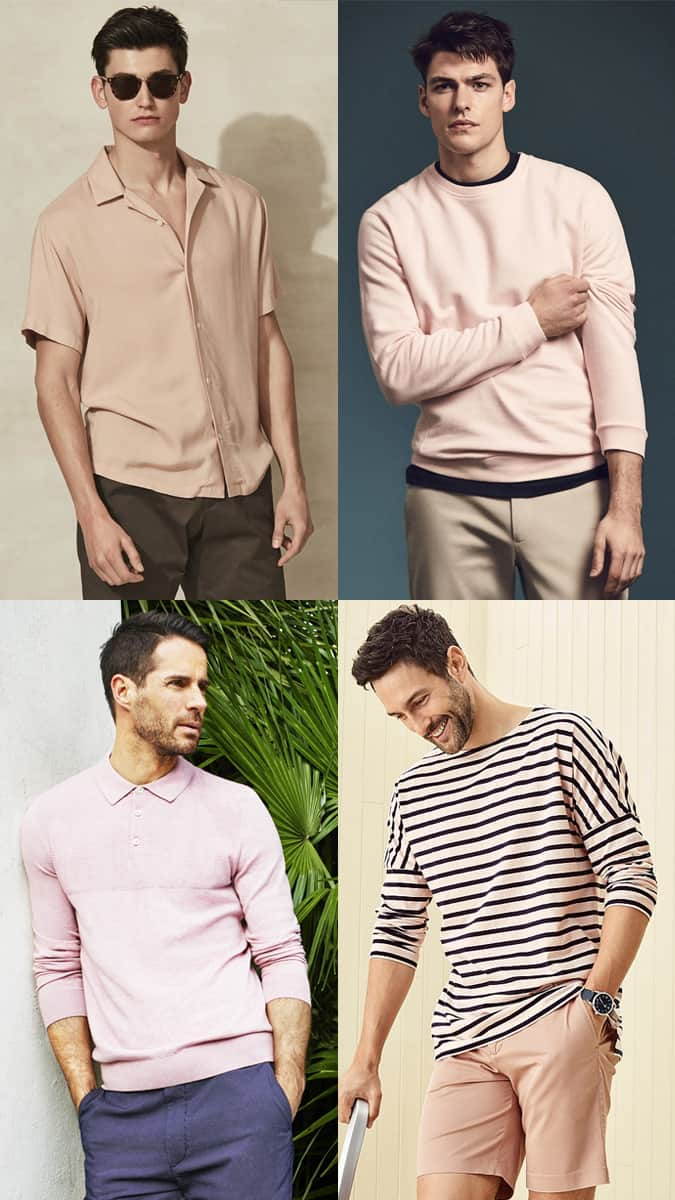 Comment porter Millennial Pink pour homme
