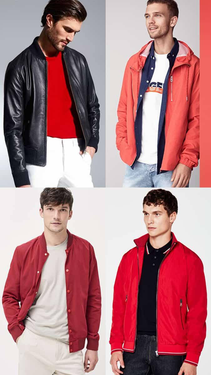 Comment porter du rouge en été pour les hommes