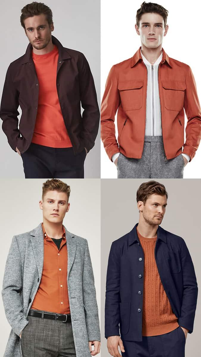 Comment porter l'orange pour les hommes