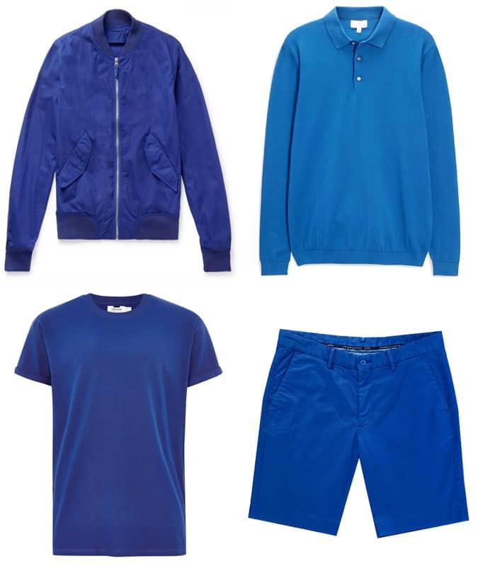 Les meilleurs vêtements bleu cobalt pour homme