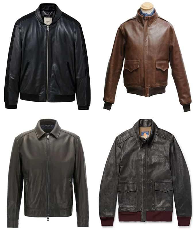 Meilleures blousons aviateur en cuir pour hommes