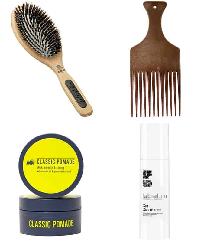 Men's Afro Hair Products
