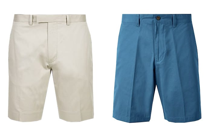 Les meilleurs shorts Marks & Spencer pour hommes