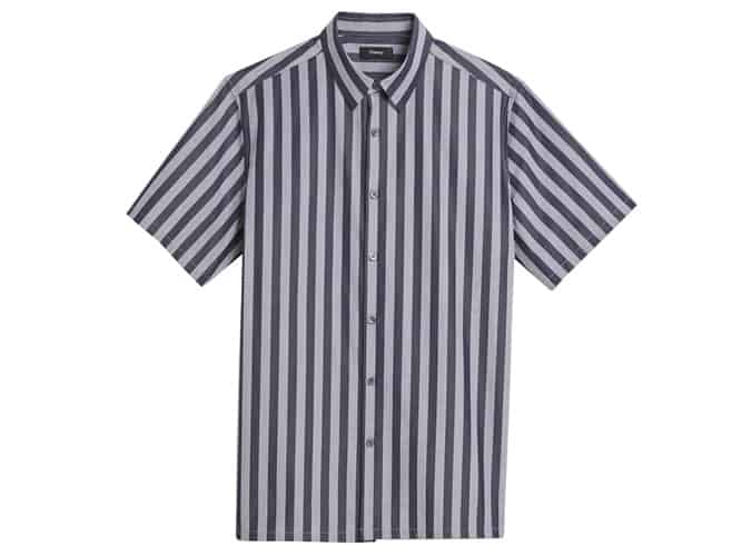 Chemise Irving à manches courtes