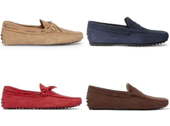 Les meilleures chaussures de conduite Tod's