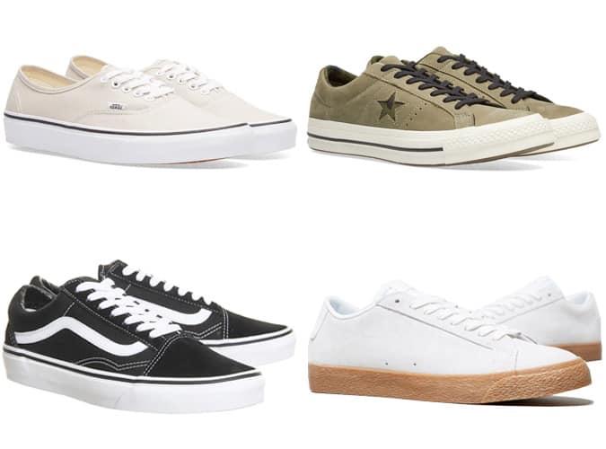 Chaussures de skate rétro The Bets